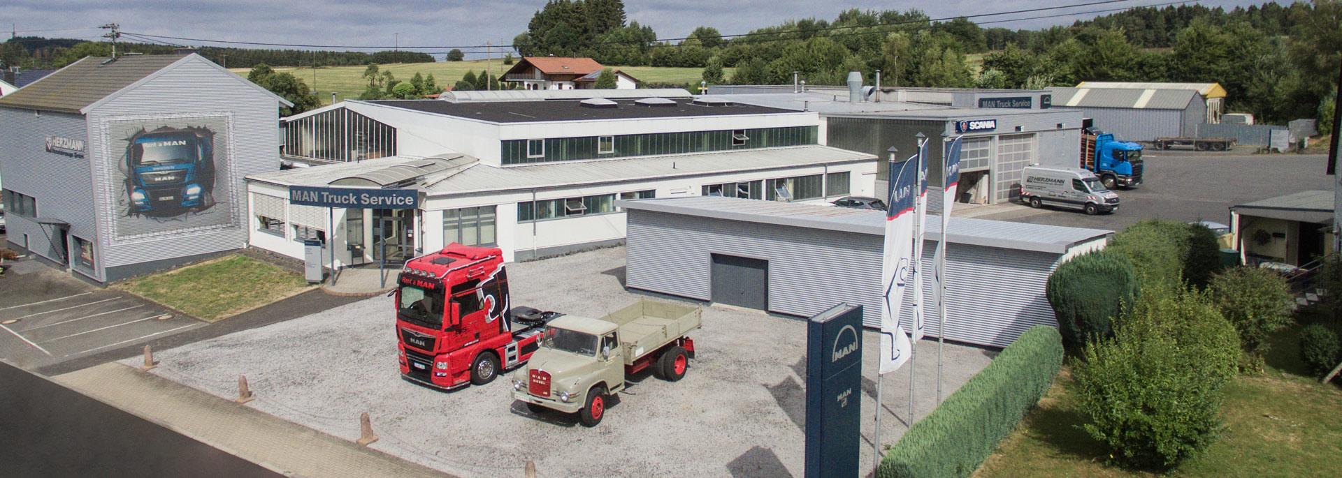 Herzmann Obersayn Der Fahrzeugservice Für Lkw Van Bus Lackierung